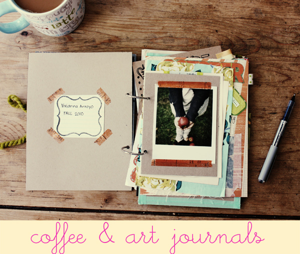 Coffee art journals