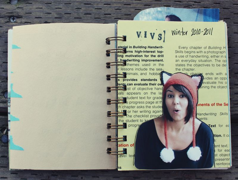 Winter art journal p1