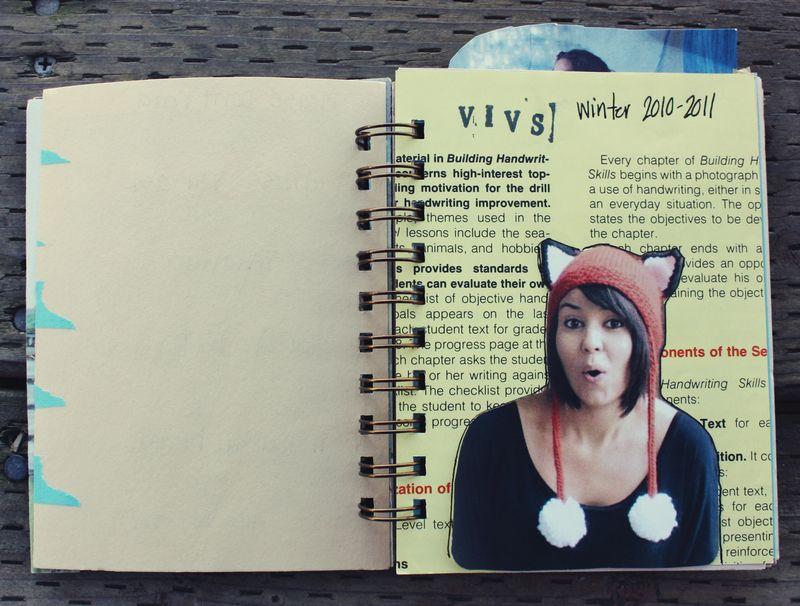 Winter art journal p1