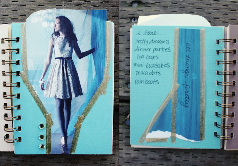 Winter art journal_i love