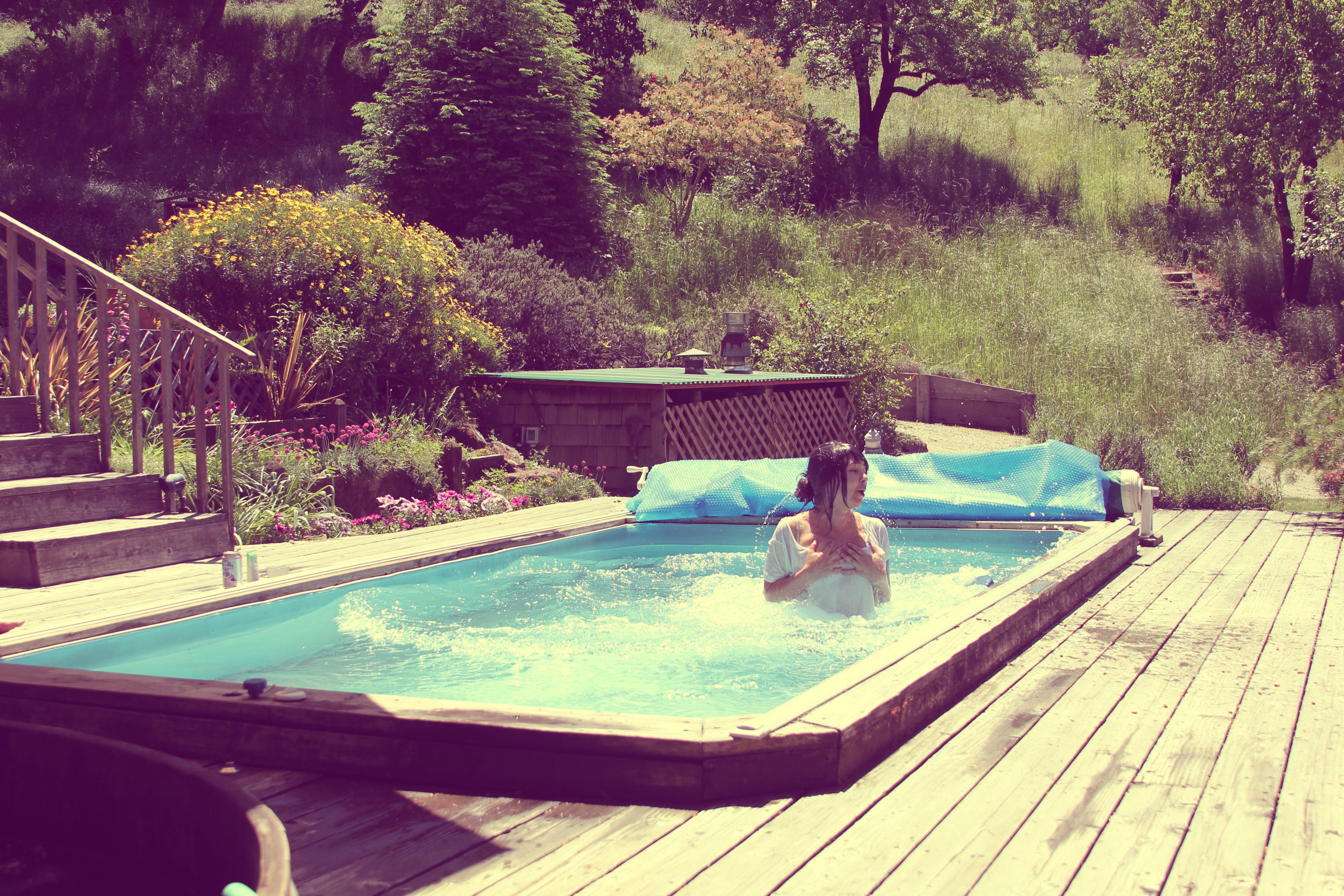 cad82b0a2f Bucket List// Jumping in a pool with all my clothes on - oh shoot