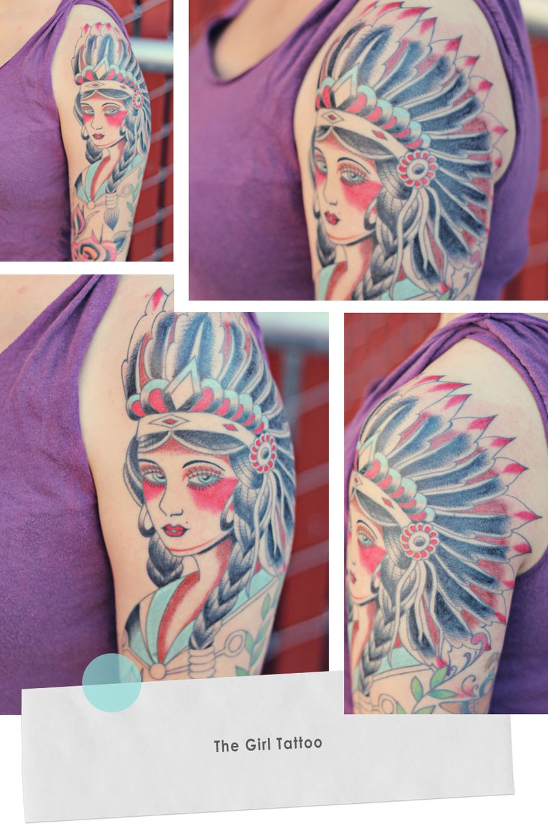 The Girl Tattoo